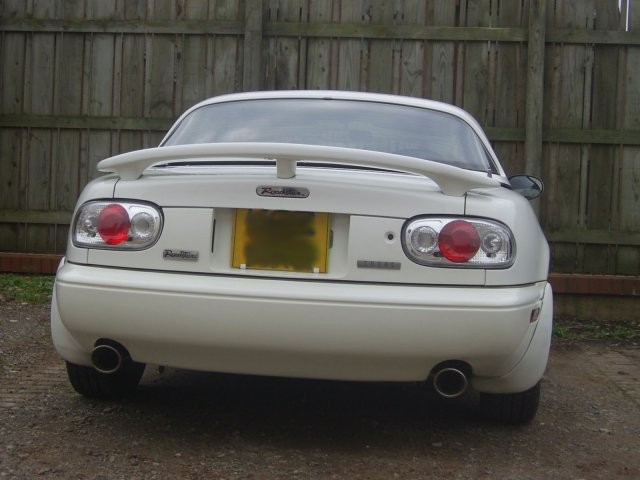 Exhaust System Stainless Steel Dual Exit Mazda Mx 5 Mk1